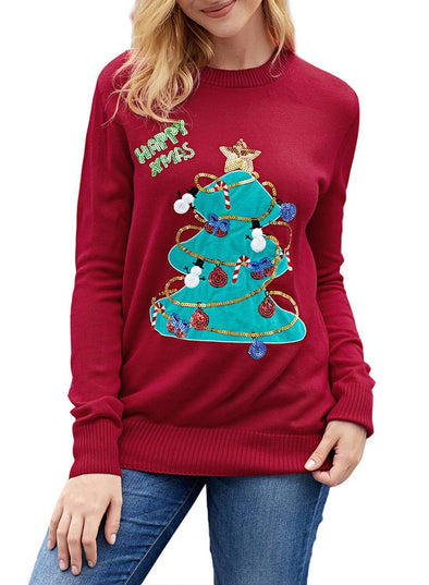 Christmas Tree Ugly Sweater (LC27868-103-1)