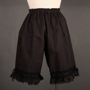 Bloomers with Lace Trim