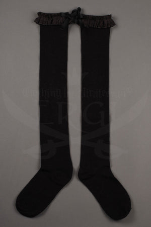 Agnes Lace Top OTK Socks