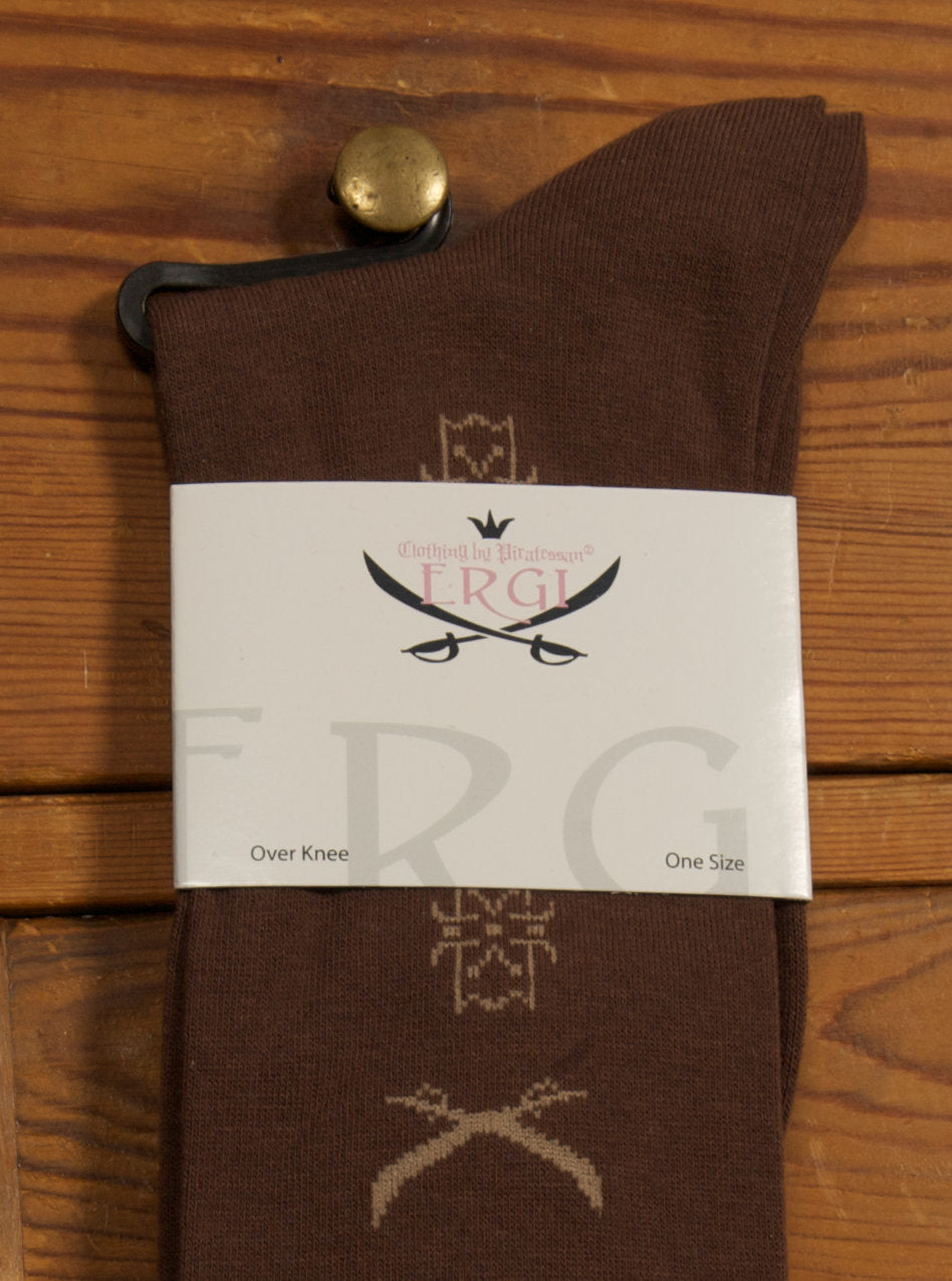 Ergi by Piratessan - Pocket Watch Socks