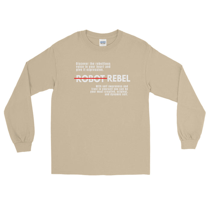 Robot Rebel Long Sleeve T-Shirt