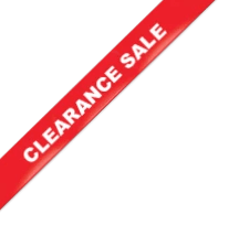 product on clearance