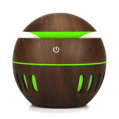 New Mini USB Humidifier Aromatherapy Aroma Essential Oil Diffuser 130ML