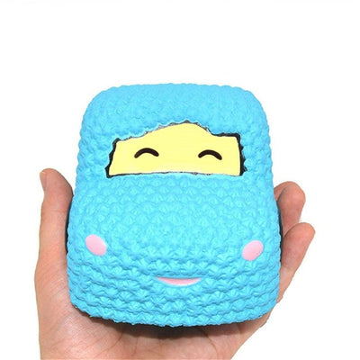Slow Rising Squishy Car Cake Jumbo Big Strawberry Scented Cartoon Toy