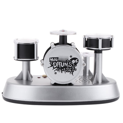 Mini Finger Drum Set Touch Drumming LED Light Jazz Percussion
