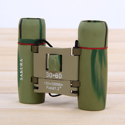 30X60 High Definition Telescope Infrared Low Light Level Night Vision Binoculars Red Film