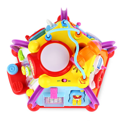 Hola 806 Baby Cube Play Center Toy Happy Small Word