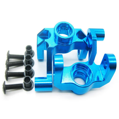 0005 Aluminum Steering Hub Carrier Knuckle for WLtoys 12428 12423 1/12 Scale RC Crawler Car 2pcs