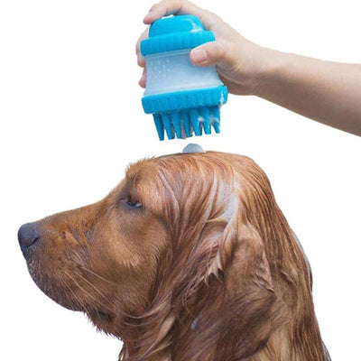 Massage Pet Bath Brush Silicone Brush Decontamination