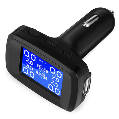 TY13 Car Tyre Pressure Monitoring System TPMS with 4 Internal Sensors