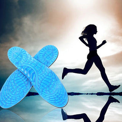 Comfortable Breathable Sports Massage Training Running Insoles