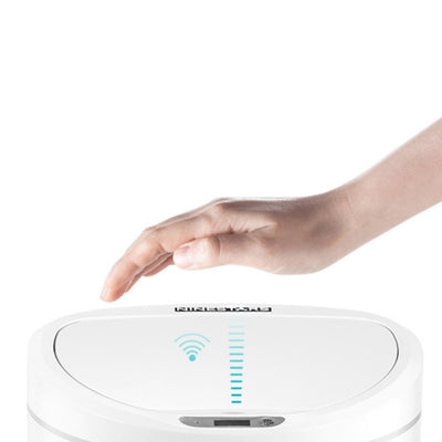 Intelligent Induction Trash Can No Contact for Kitchen Living Room Bathroom