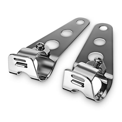 Paired 28 - 43mm Motorcycle Headlight Bracket