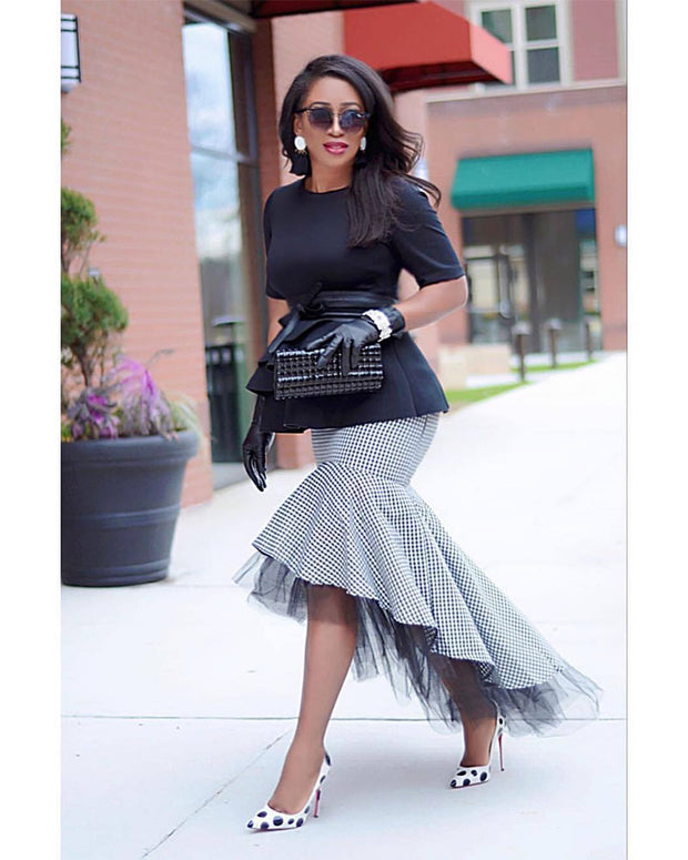 Mermaid Lady Fishtail Skirt - Girlsintrendy, Girls In Trendy
