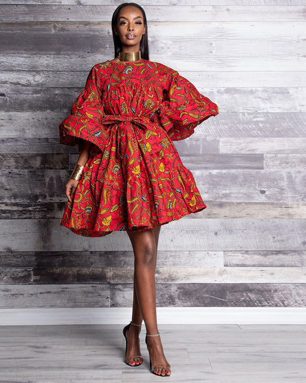 Dance In African Dress - Girlsintrendy, Girls In Trendy
