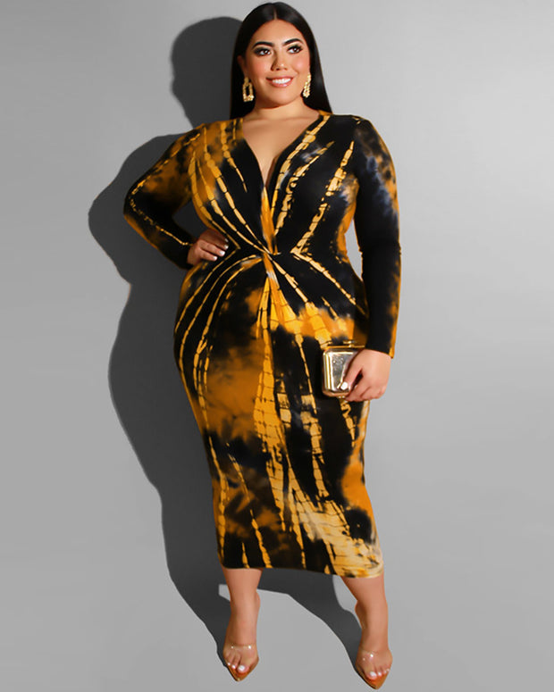The Fire n Desire Midi Dress - Girlsintrendy, Girls In Trendy