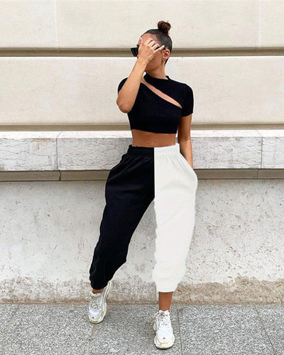 Equator and North Pole Pants - Girlsintrendy, Girls In Trendy
