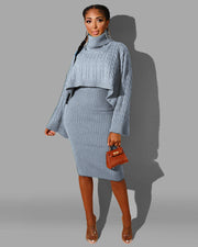 Sweater Weather Two Piece Set - Girlsintrendy, Girls In Trendy