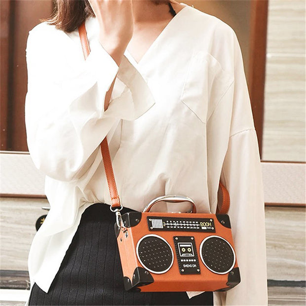 Radio Game Handbag - Girlsintrendy, Girls In Trendy