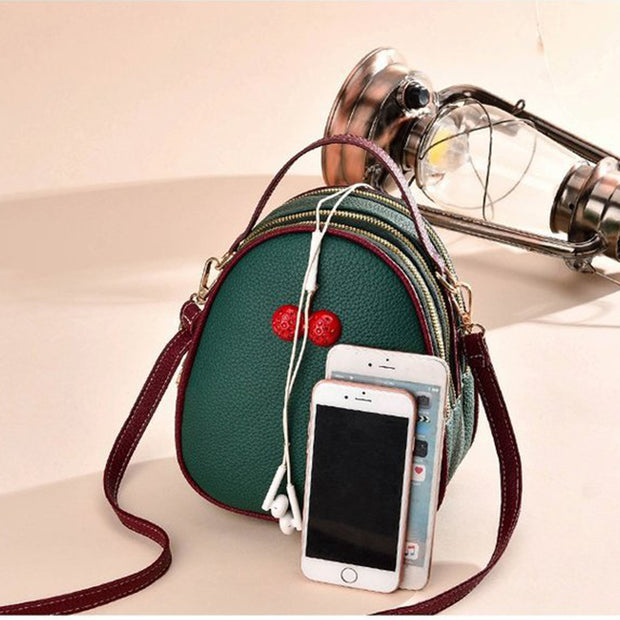 Fashion Cherry Design Mini Crossbody Bags - Girlsintrendy, Girls In Trendy