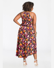 Four Seasons of Flowers Dress - Girlsintrendy, Girls In Trendy