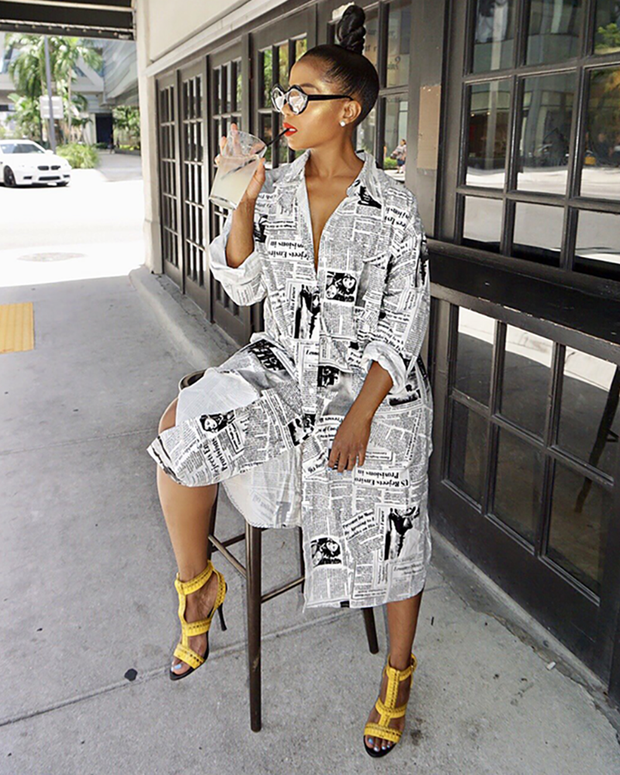 Hand Me The Shirt Dress - Girlsintrendy, Girls In Trendy