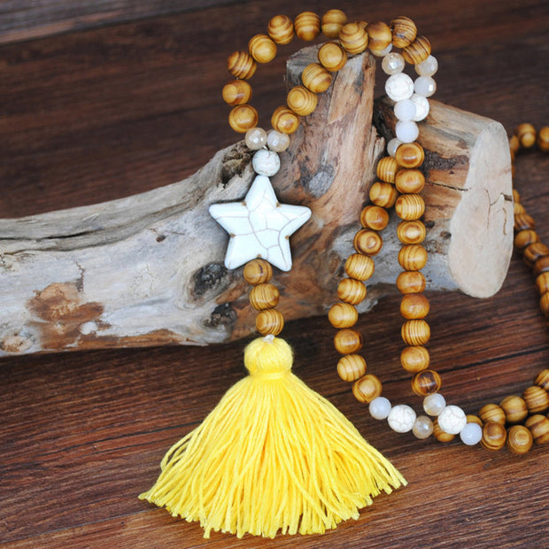 Handmade Beaded Pendant Necklace - Girlsintrendy, Girls In Trendy