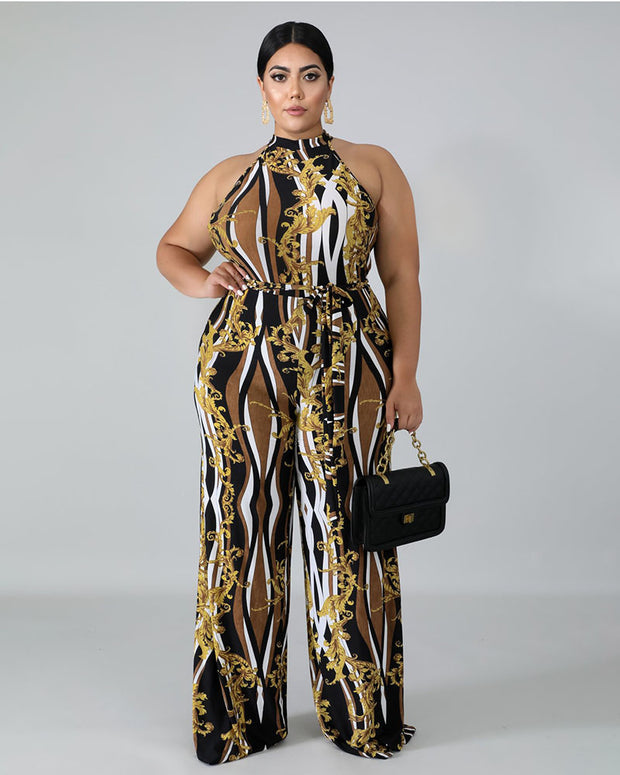Enjoy Every Moment Plus Size Jumpsuit - Girlsintrendy, Girls In Trendy