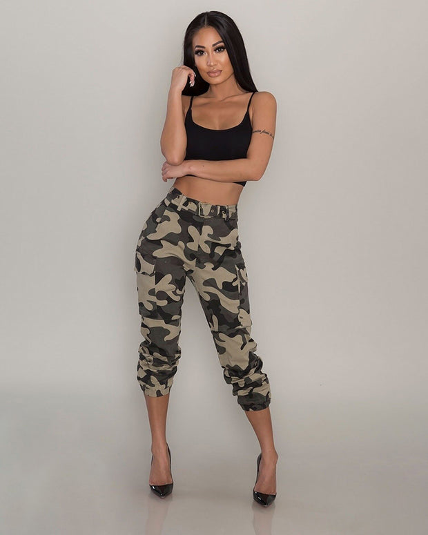 Integrated Camouflage Overalls - Girlsintrendy, Girls In Trendy