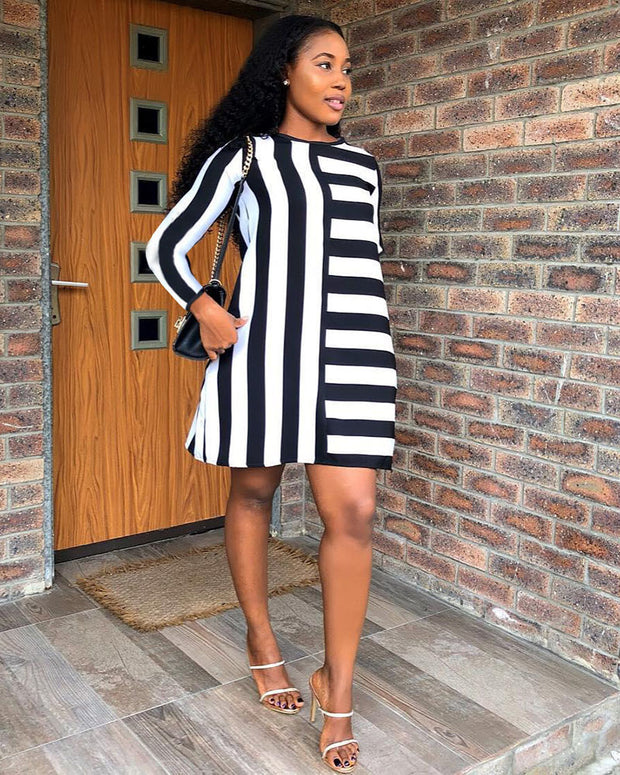 Living The Classic Life Midi Dress - Girlsintrendy, Girls In Trendy
