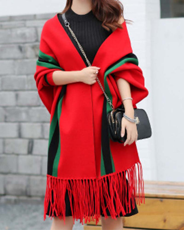 NOUVEAU PONCHO - Girlsintrendy, Girls In Trendy
