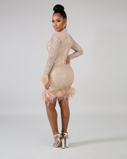 Not Afraid To Sparkle Dress - Girlsintrendy, Girls In Trendy