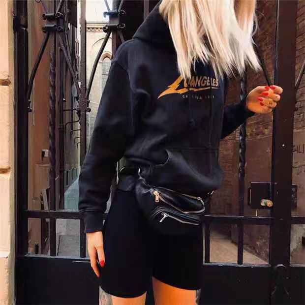 Classic Black Belt Bag - Girlsintrendy, Girls In Trendy