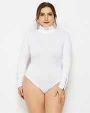 Basic Bodycon Stretchy Bodysuit - Girlsintrendy, Girls In Trendy