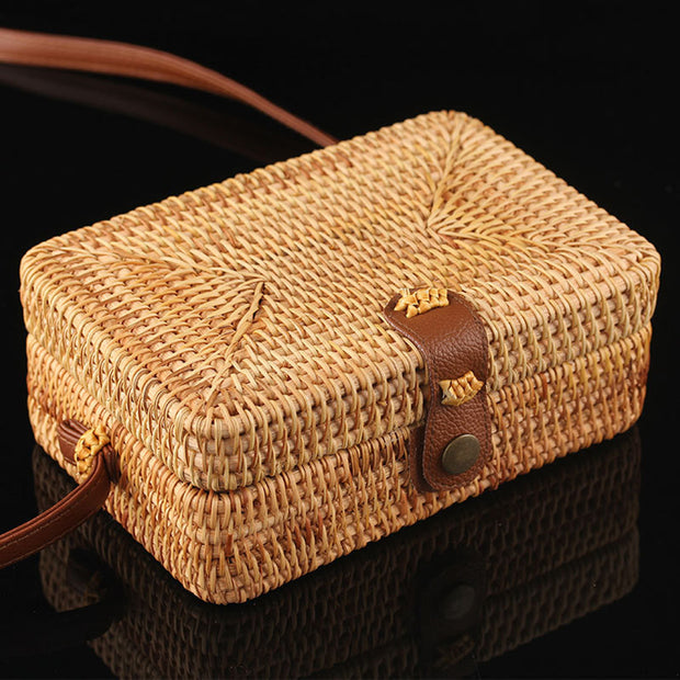 Rattan Natural Chic Bags - Girlsintrendy, Girls In Trendy