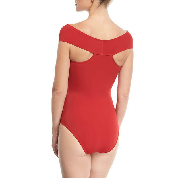 Red Strappy Cross Front Swimsuit - Girlsintrendy, Girls In Trendy