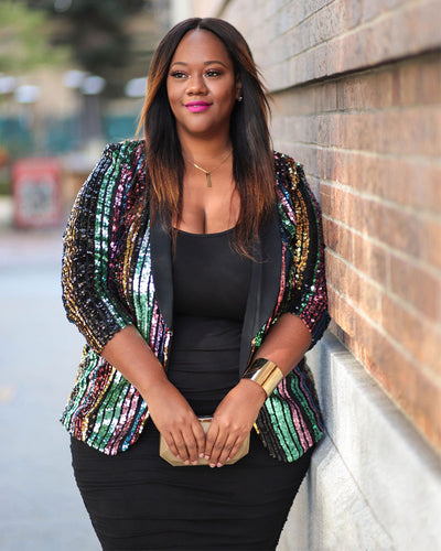 I Could Been The One Plus Size Jacket - Girlsintrendy, Girls In Trendy