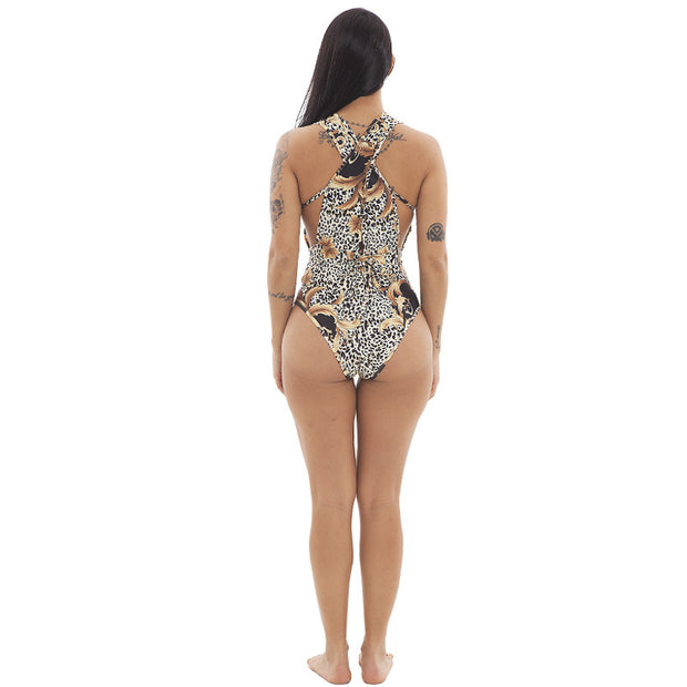 Sexy Floral Print Two Pieces Beach Wear Sets - Girlsintrendy, Girls In Trendy