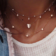 Stylish Multi Layer Pendant Necklace - Girlsintrendy, Girls In Trendy