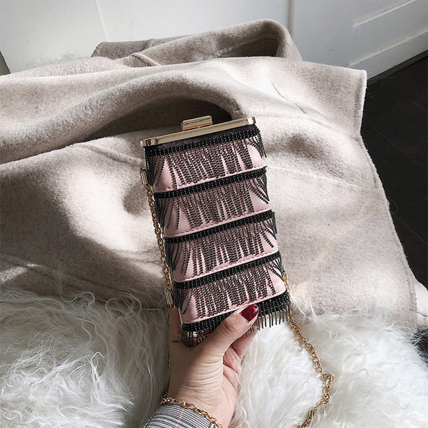 Tassels Mini Shoulder Bag - Girlsintrendy, Girls In Trendy