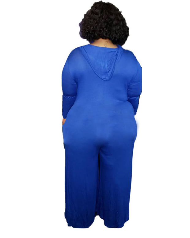 The Wild Side Plus Size Jumpsuit - Girlsintrendy, Girls In Trendy
