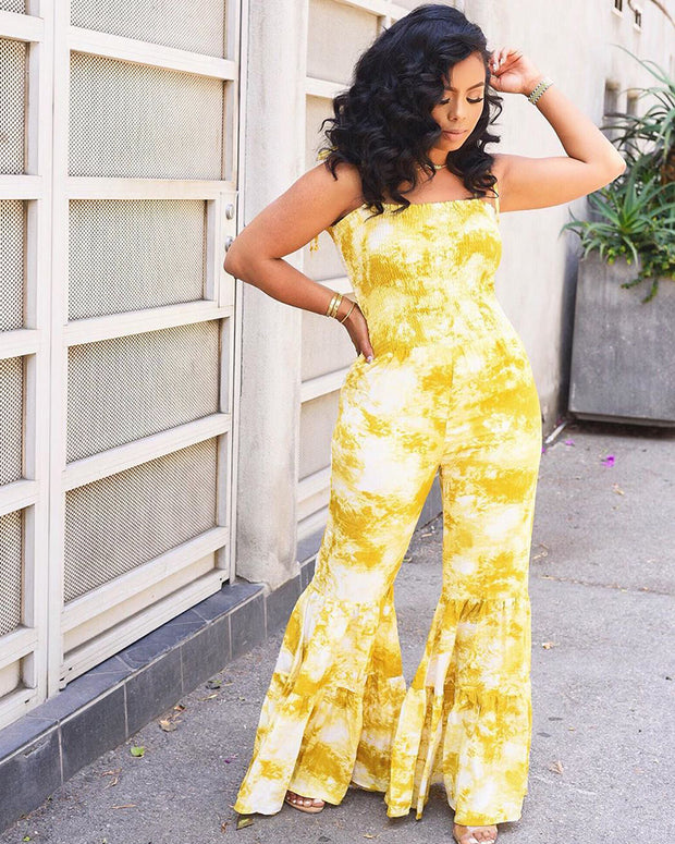 TRUTH OR FLARE JUMPSUIT - Girlsintrendy, Girls In Trendy