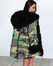 You Are So Warm Fur Trim Parka - Girlsintrendy, Girls In Trendy