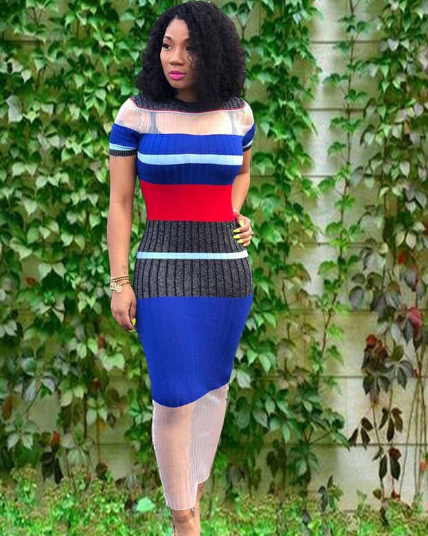 Once In A Decade Mesh Dress - Girlsintrendy, Girls In Trendy