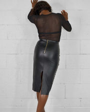 When You Dance Pencil Skirt - Girlsintrendy, Girls In Trendy