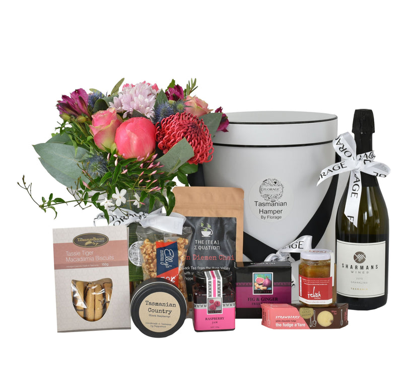 Gourmet + Wine Hampers