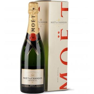 Bottle of Moet