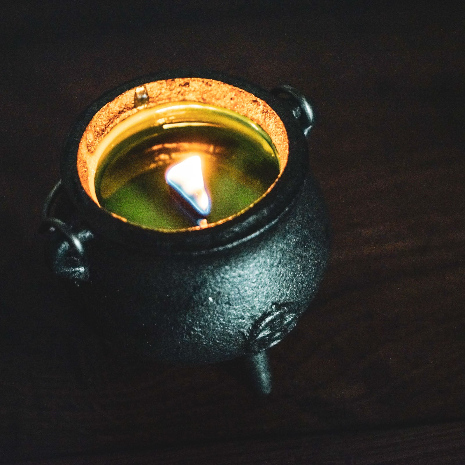 Witches' Brew Mini Cauldron Candle