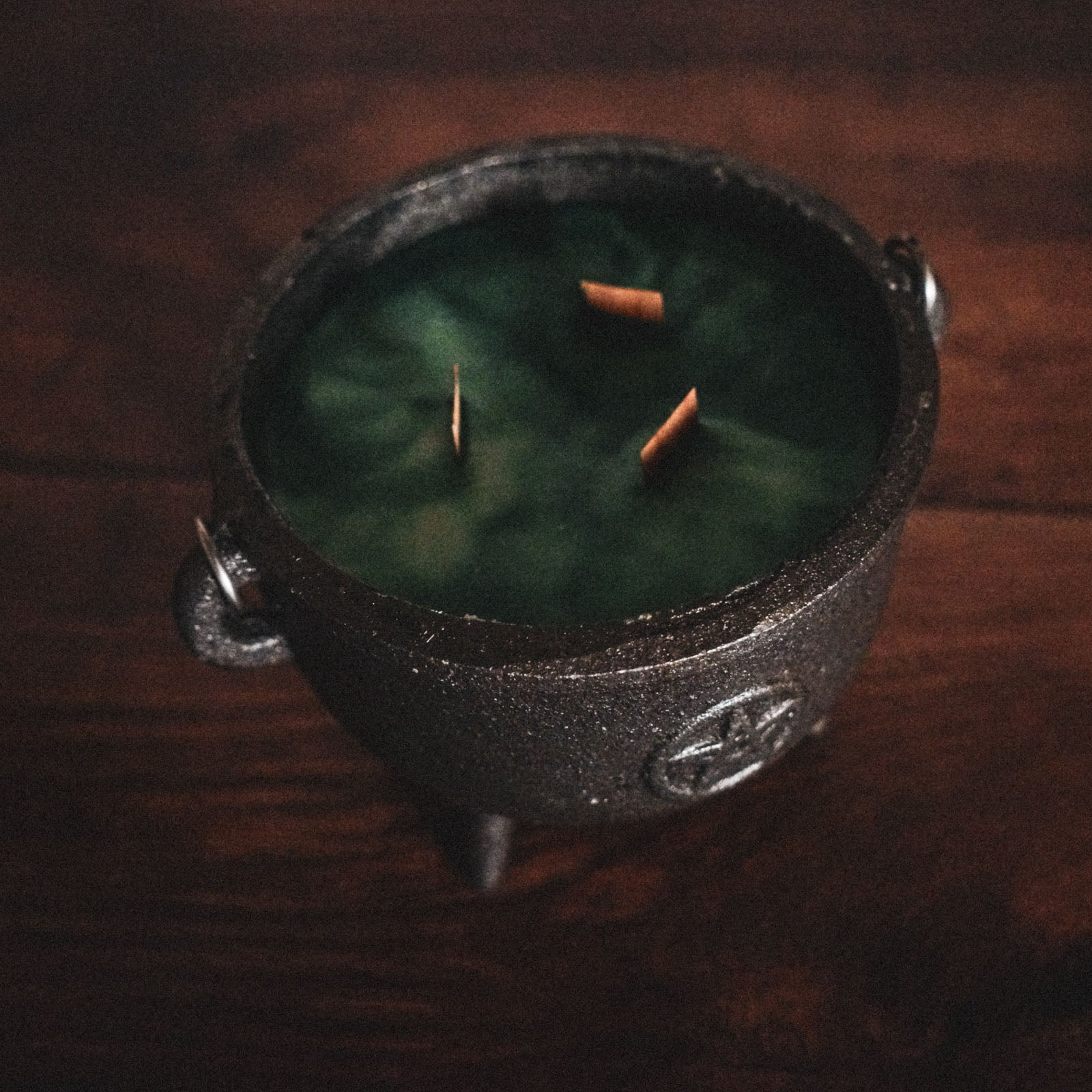 Witchy Cauldron Candles