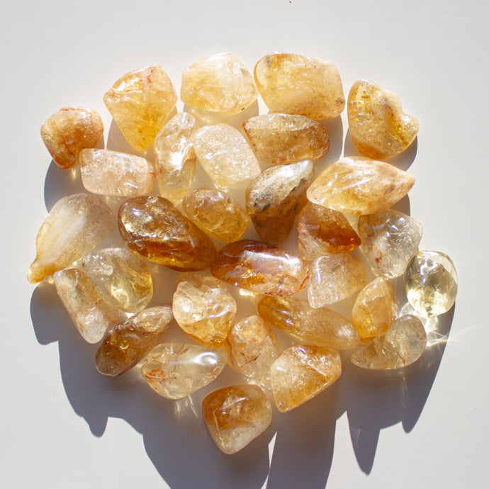 Ethical Citrine Healing Crystal for Cleansing, Warmth, and Energy